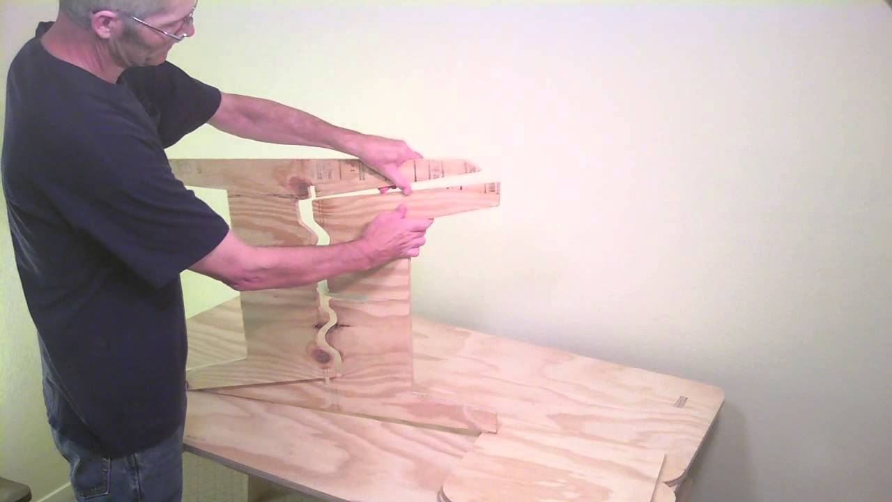 How To Make A Plywood Chair Pier One Hanging 4 Chairs From Sheet Of Part 2 Youtube