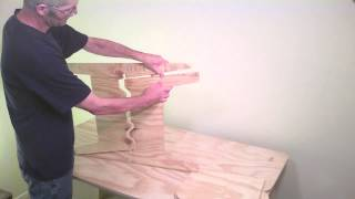 How To Make A Chair - 4 Chairs From One Sheet Of Plywood: Part 2