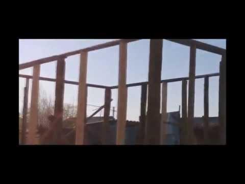 видео: Каркасный Сарай.. из каркаса своими руками.