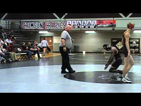 Austin Hanson LSN vs  Julio Raevon Wilson Grandview 120 lbs