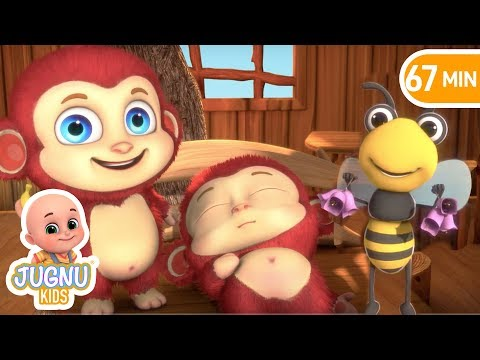 Are You Sleeping Brother John and More Rhymes | Nursery Rhymes from Jugnu Kids