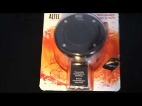 Altec Lansing iM227 Orbit Mp3 Speaker  UNBOXING & AUDIO TEST