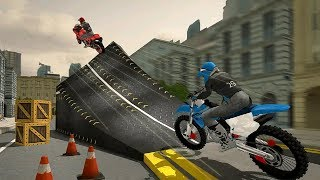 Rooftop Bike Stunt Game 2019 - Dirt Motor Cycle Racing Game - Bike Games 3D - Bike Wala Android Game