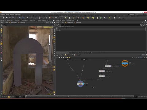 Houdini Training - Unreal 06 - Setting up collision meshes for exporting