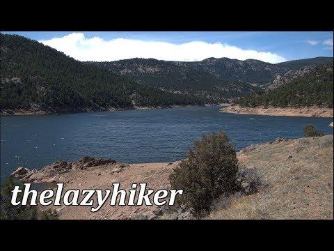 Sleepy Lion Trail Hike - Button Rock Preserve - Ralph White Reservoir - Lyons, Colorado