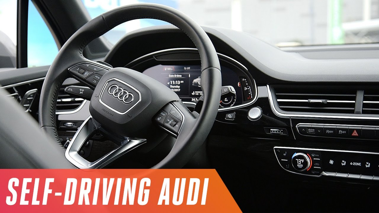 the audi and nvidia self driving car youtube