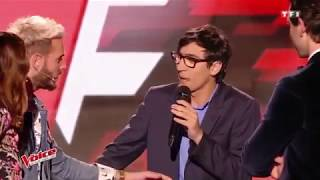 Eminem Lose Yourself Interpretada por Vincent Vinel en La Voz Francia 2017 #FTI