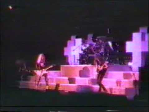 Metallica Master of Puppets 1986 ozzy tour