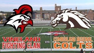 VHS Girls Soccer vs. Cumberland Regional | Senior Night | 10/22/18