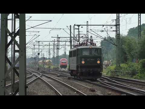 (HD) A busy day Hamburg Harburg station/Züge am Bahnhof Hamburg Harburg - 9/8/17