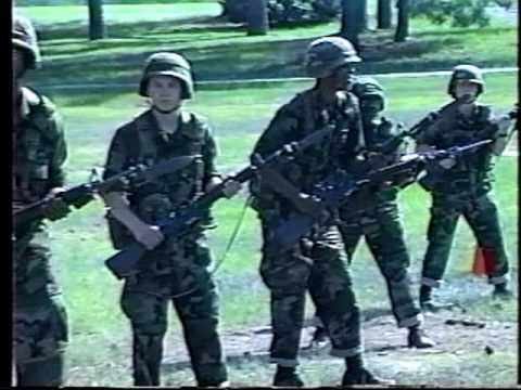 Fort Jackson Basic Training June-August 1996