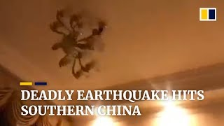 Deadly earthquake hits southern China's Sichuan province