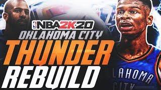 SHAI THE FUTURE?! REBUILDING THE OKC THUNDER! NBA 2K20