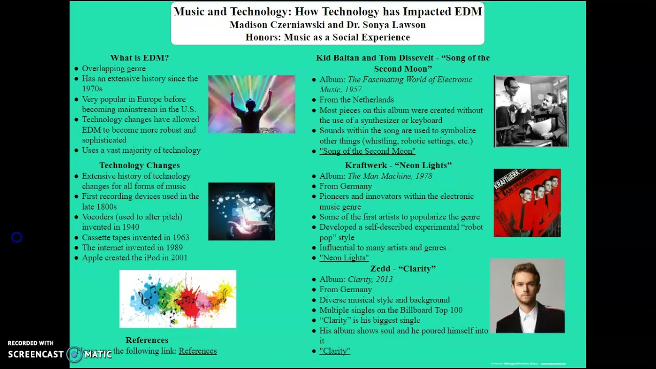 Music and Technology: How Technology has Impacted EDM