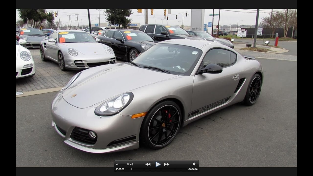 2012 porsche cayman r start up exhaust and in depth review
