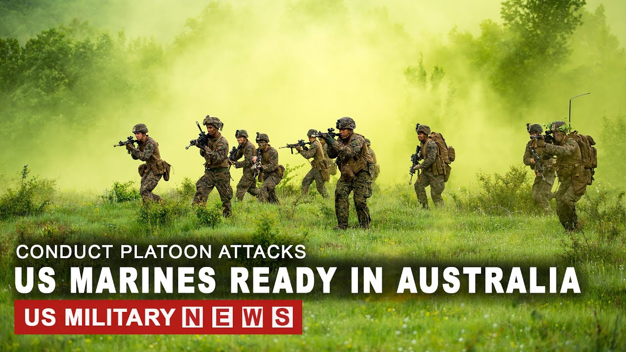 CHINA ALERT: US Marines in Australia Ready To Be Deploy