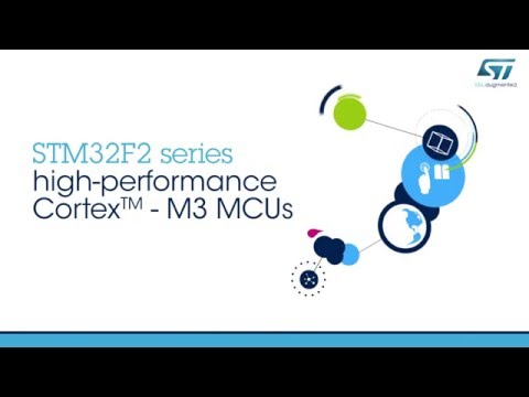 getting started with the STM32F2 series - YouTube