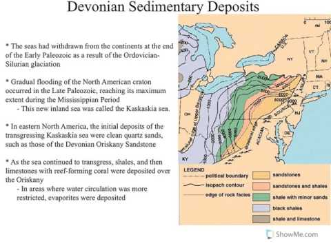 Historical Geology: Devonian Geology