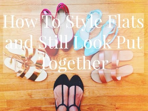 How To: Style Flats and Look Put Together  Brittni Pope