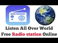 How to listen All Over World Free Radio station Online use Android Application -【Hindi】