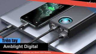 Trên tay Pin dự phòng 30.000mAh hỗ trợ sạc nhanh 65W Baseus Amblight Digital Display