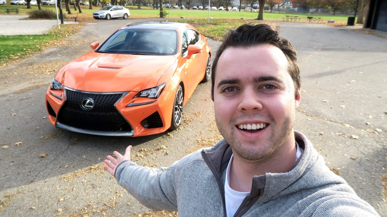 TAKING DELIVERY OF A 2016 LEXUS RCF !!