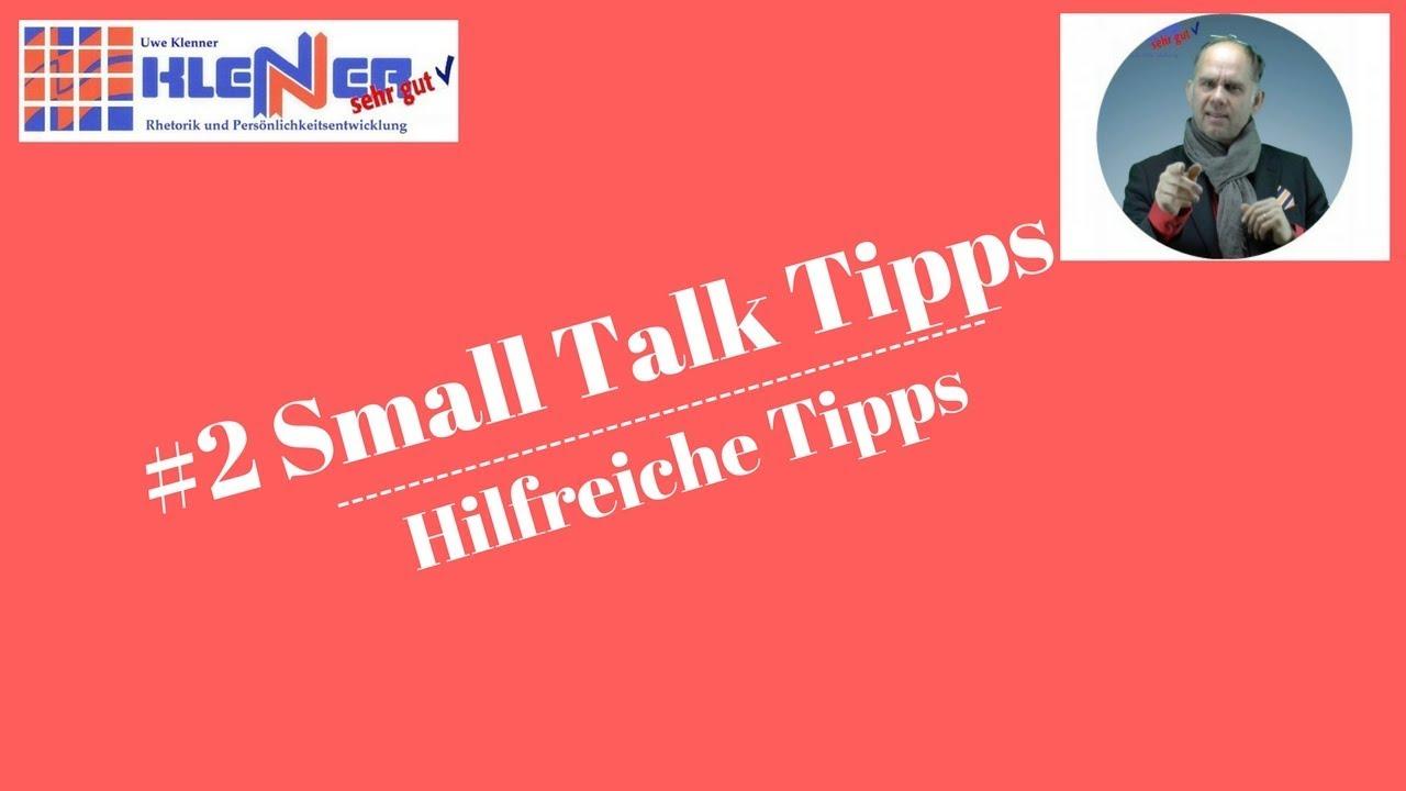 tipps für smalltalk