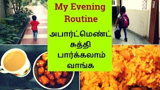 My Evening Routine in Tamil - Snacks and Dinner Preparation - My First Vlog