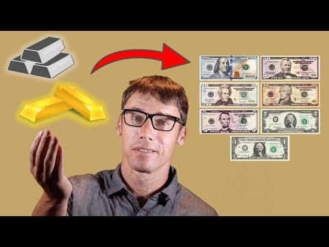 Why Gold And Silver Backed Up Our Currency