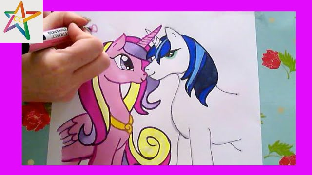 https://i.ytimg.com/vi/FACcp0roQB8/maxresdefault.jpg How To Draw Princess Cadence And Shining Armor