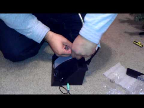 Unboxing of iHome Speaker Lamp for Smartphones and MP3 Players