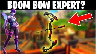AM I A BOOM BOW EXPERT? | Use Code: Senwot2000 (fortnite season 9 gameplay)