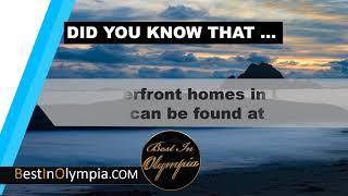 The waterfront homes in Olympia | Best In Olympia | Olympia WA