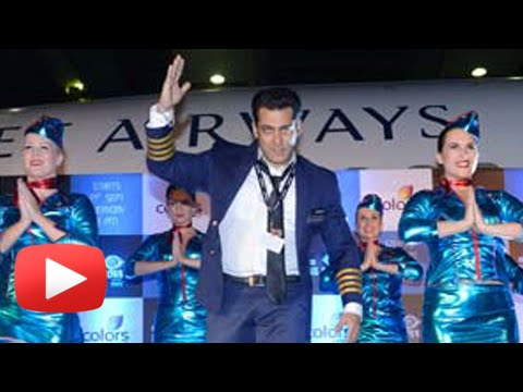 (VIDEO) Salman Khan Dances With Hot Air Hostesses | Bigg Boss 8 Launch