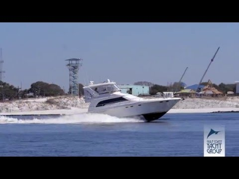 Gulf Coast Yacht Group- 2000 Sea Ray 480 Sedan Bridge- Sanity Check