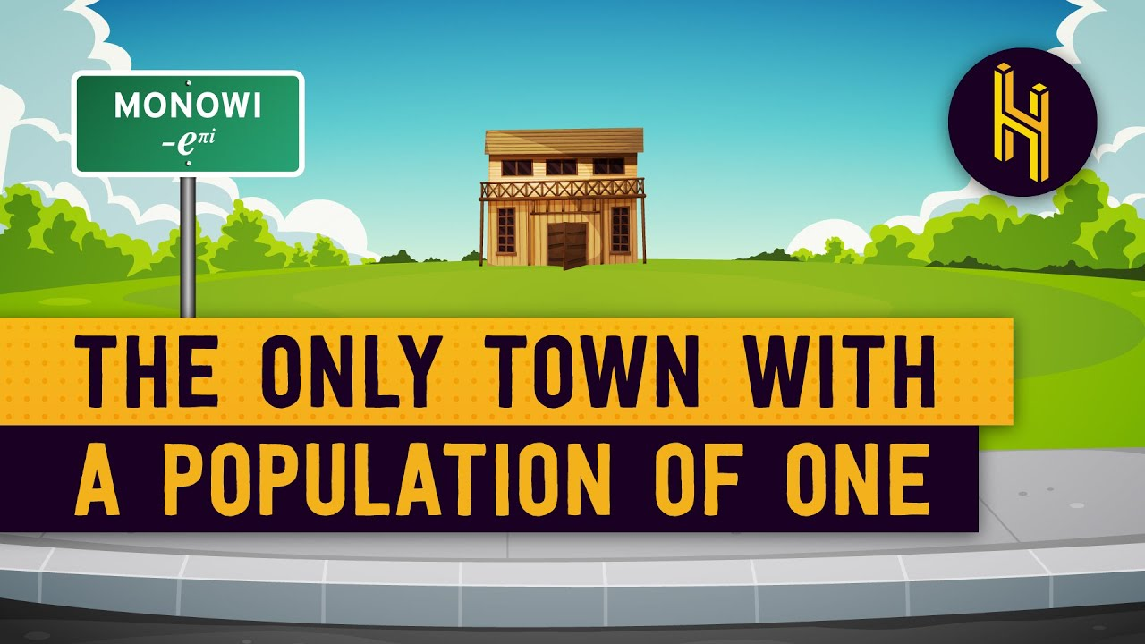 Monowi is a town with a population of only 1