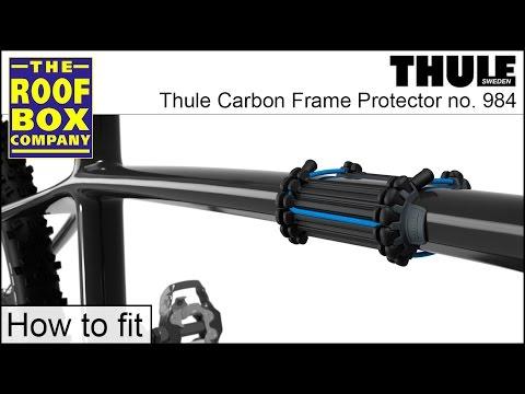 Thule Carbon Frame Protektor Rahmenschutz 984 für Fahrräder mit Carbonrahmen