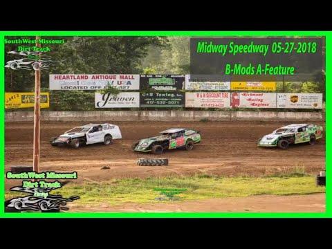 USRA - B-Mods A-Feature Lebanon Midway Speedway 5/27/2018