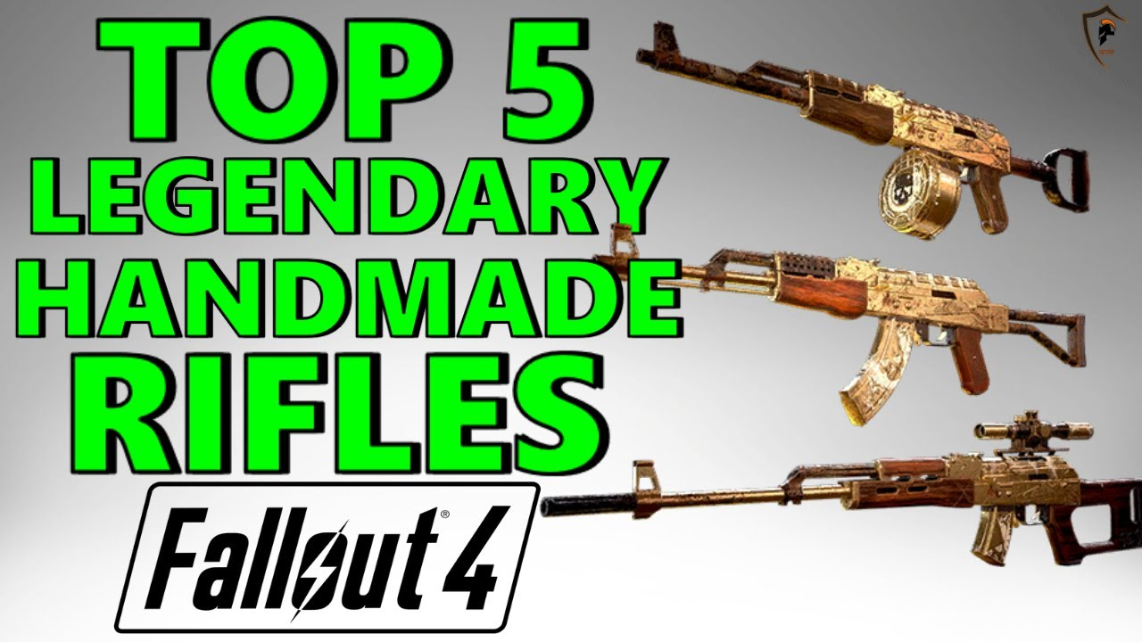 fallout 76 handmade rifle mods fallout 4 top 5 legendary handmade rifles 8094