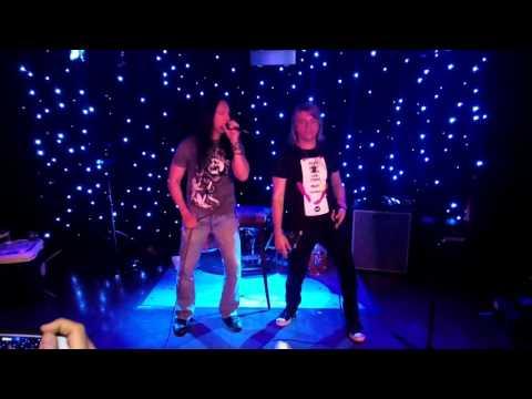 Danny Vaughn (Tyketto) singing Bj (Jeff Scott Soto) karaoke