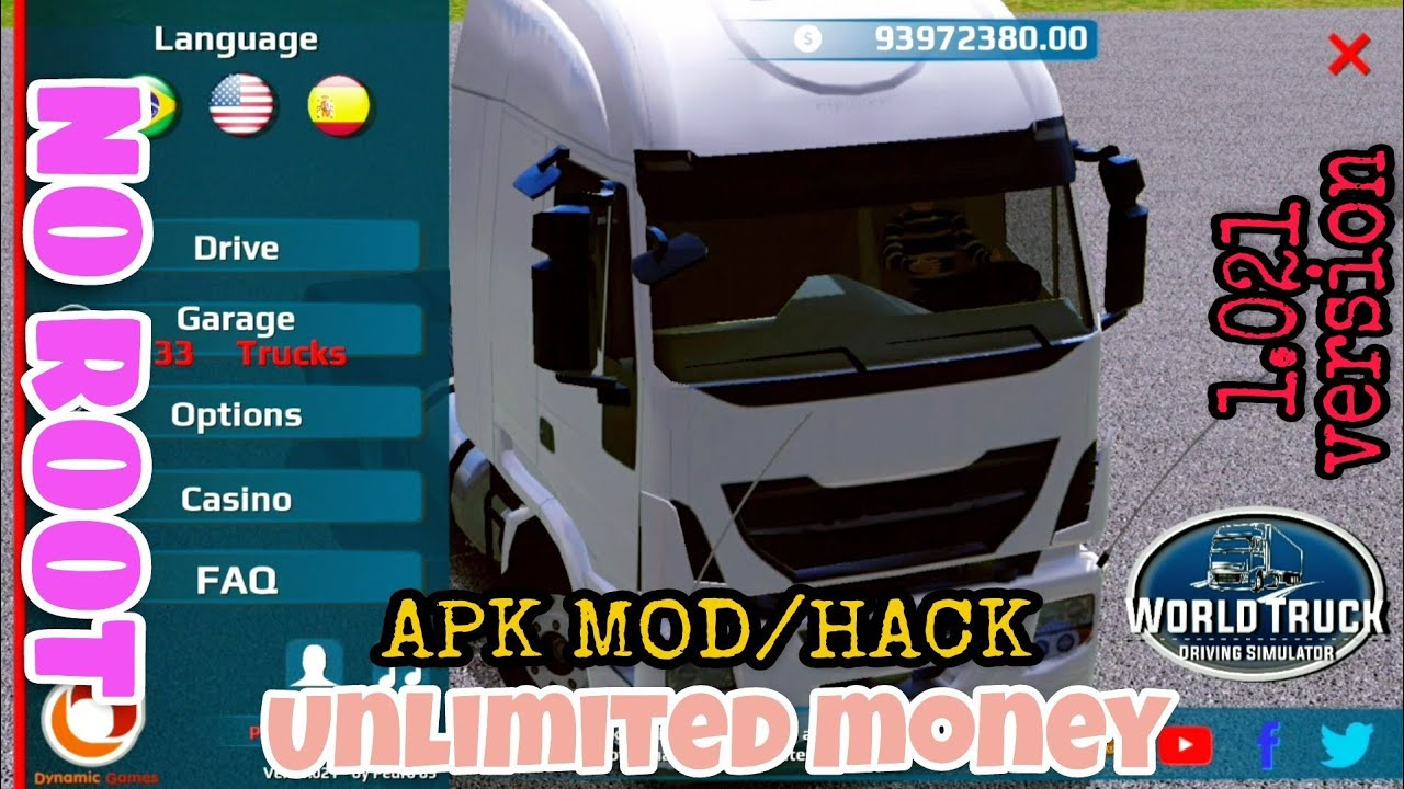 World Truck Driving Simulator V 1 021 Apk Mod Hack Unlimited