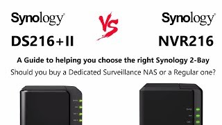 Synology DS216+II DiskStation NAS 2-Bay 4TB (2 X 2TB Seagate IronWolf (NAS))