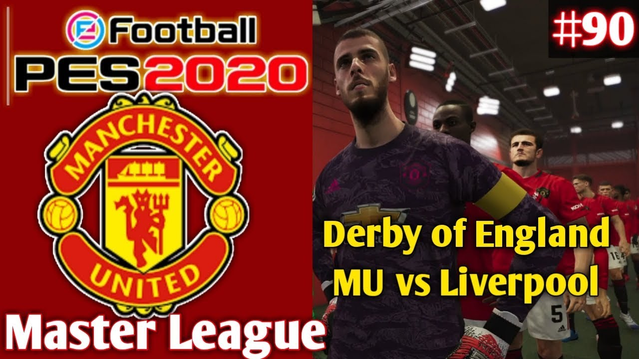 Eback Luar Biasa MU PES 2020 Indonesia Master League Manchester United