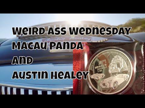 Weird Silver Wednesday - Episode 12 Gorgeous Macau Panda / Austin Healey silver unboxing