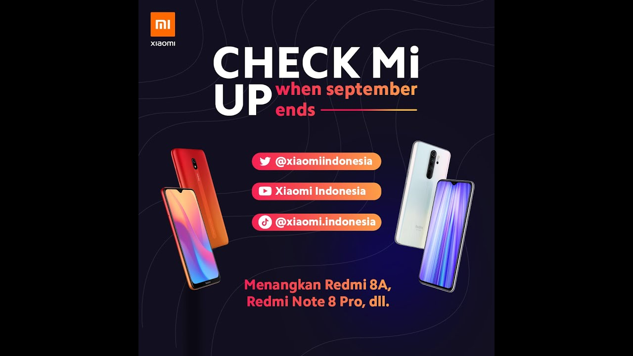 Giveaway - Check Mi Up When September Ends