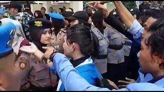 Mahasiswi Korban Pemukulan Lihat Oknum Polisi Yang Memukulnya