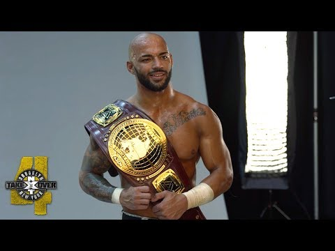 Behind the scenes of Ricochets NXT North American Title photo shoot: WWE Exclusive, Aug. 18, 2018