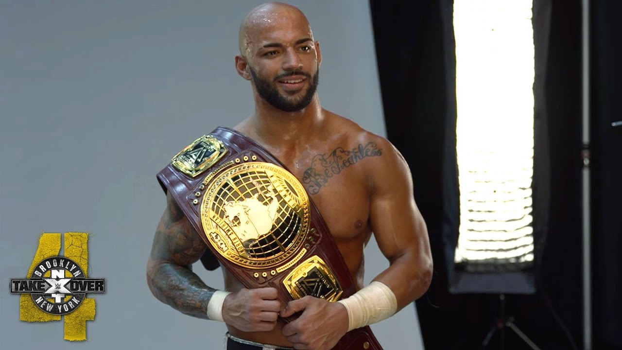 Behind the scenes of Ricochet's NXT North American Title photo shoot: WWE Exclusive, Aug. 18, 2018