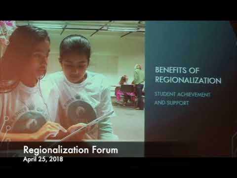 Regionalization Forum 04.25.18