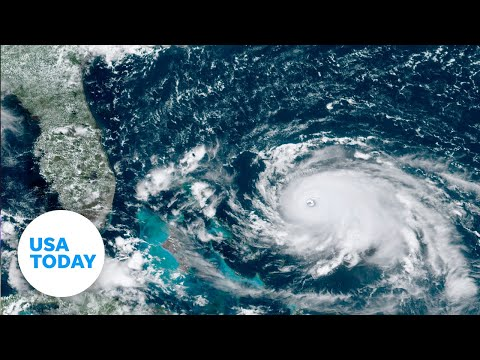 National Hurricane Center: Dorian's eye is starting to show | USA TODAY
